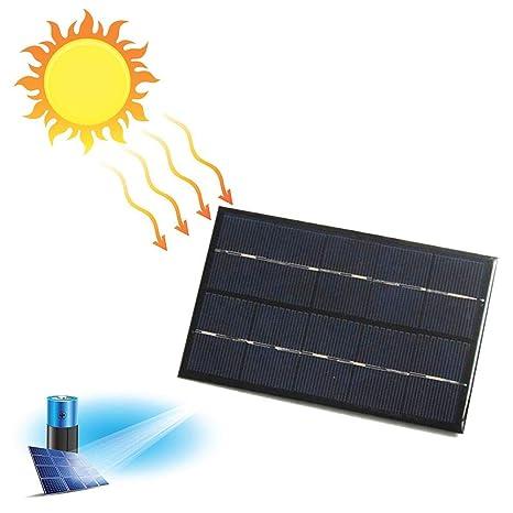 Taimot - Cargador Solar USB de 2 W y 5 V, Resistente al Agua ...