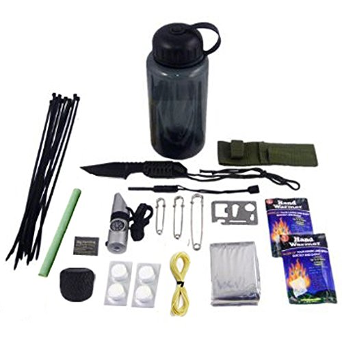 UPC 156787164975, 30 in 1 Ultimate Outdoor Emergency Survival Kit