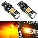 JDM ASTAR 2600 Lumens Extremely Bright PX Chips 7440 7441 7443 7444 992 LED Bulbs,Xenon White