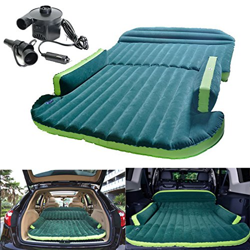 Heavy Duty Car Travel Inflatable Air Mattresses Sleeping Bed SUV Back Seat Mat LeB