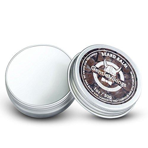 Beard Balm Conditioner for Men Natural Moisturizing Wax, 1Oz, shape and style beard and mustache, organic Jojoba oil and Shea Butter
