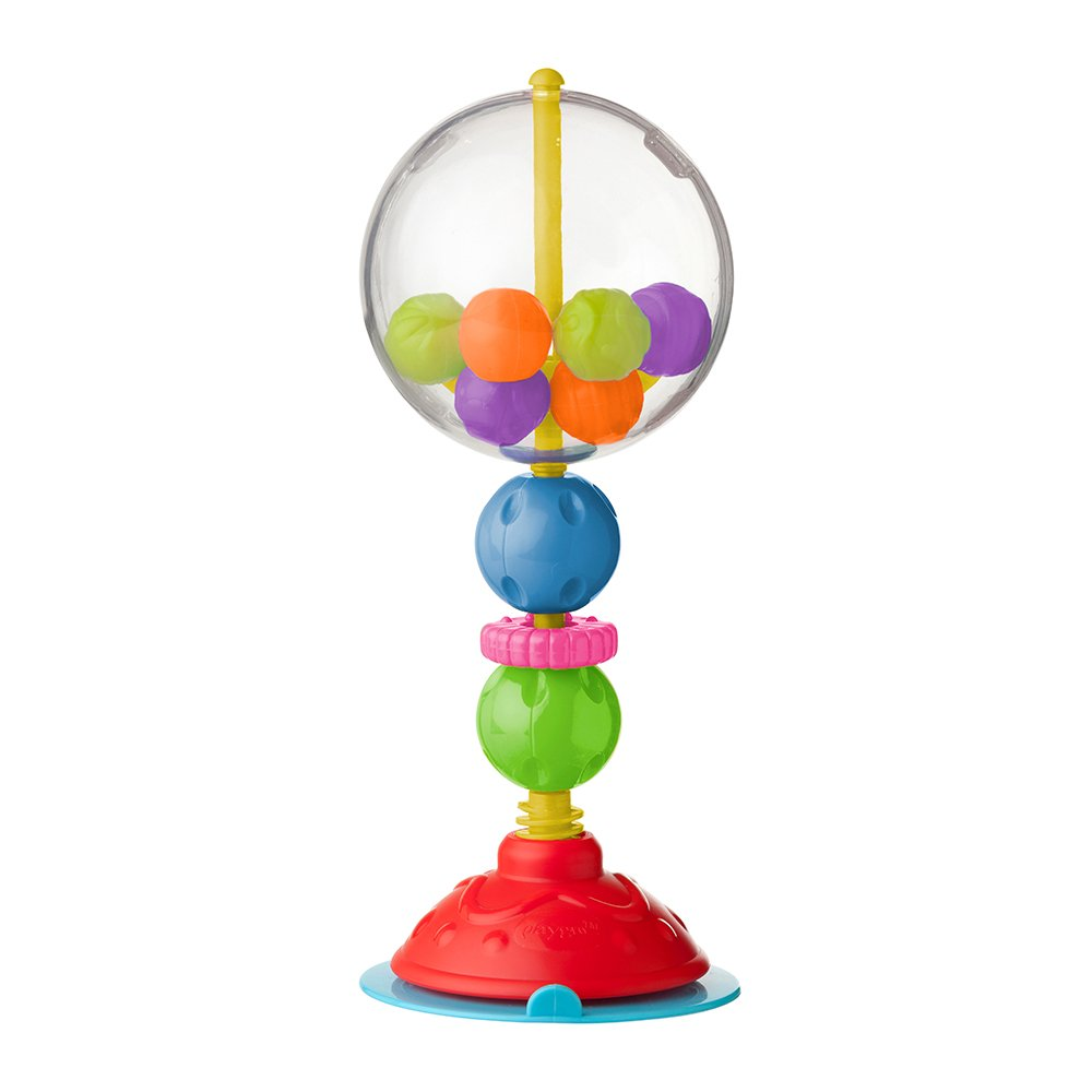 Playgro 4086370 Ball Bopper High Chair Toy for baby infant toddler