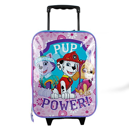 Price comparison product image Paw Patrol Pup Power 16 Pilot Case Wheel, Pink/Purple, One Size