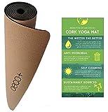 "Oeco Plus Premium Cork Non-Slip Yoga Mat (72"" x 24"" x 5mm Thick)"