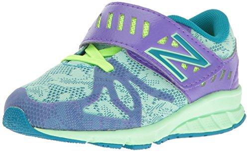 New Balance Kids' KV200 Running Shoe - Purple/Green - 8 W...