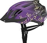 ABUS MountX Children's Cycling Helmet Purple Maori Purple Size:53-58 cm