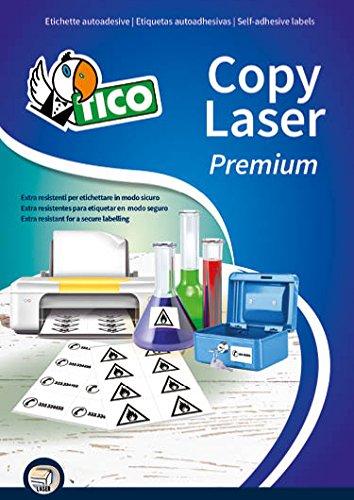 Tico LP4P-210148 Etichetta in Poliestere, 210 x 148, Bianco Tico Italia