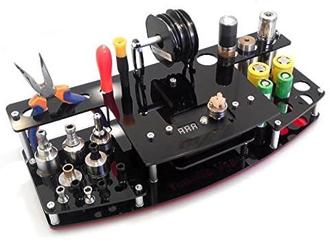510 ohm meter vape station V3(without ohm reader)Black-Red (Mods Drip Tip)