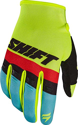 2017 Shift White Label Air Gloves-Flo Yellow-XL