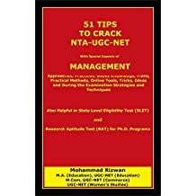 51 TIPS  to crack  NTA-UGC-NET : With Special Aspects of  MANAGEMENT