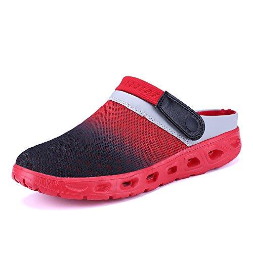 Hasag Zapatillas de Deporte de los Zapatos de los Deportes del Verano de Las Mujeres Forman los Zapatos de Malla Respirables Salvajes de los Pares Zapatos de la Playa Red A1