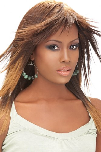 Outre Premium New Yaki HH Weaving Hair Length 8 Color 1b (New Weave Premium Yaki)