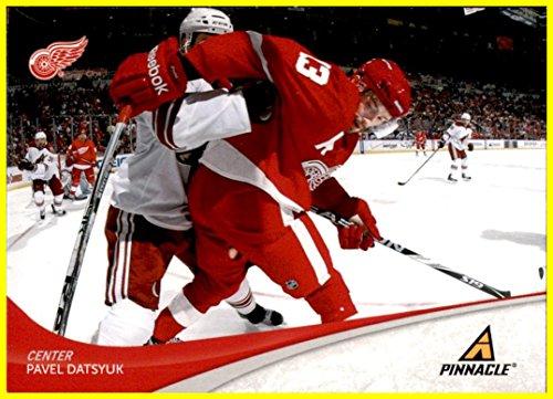 Pavel Datsyuk Detroit Red Wings - 2011-12 Pinnacle #13 Pavel Datsyuk DETROIT RED WINGS