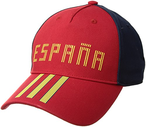 Adidas Spain World Cup - adidas World Cup Soccer Spain Country Fashion Cap, One Size, Scarlet/Collegiate Navy/Bold Gold