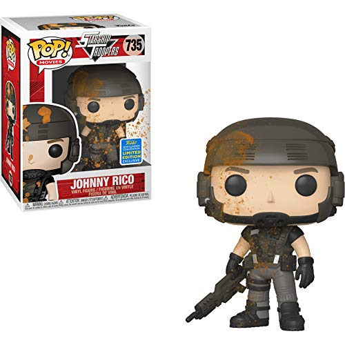 Funko Johnny Rico (2019 Summer Con Exc) Pop Movies Vinyl Figure & 1 Compatible Graphic Protector Bundle (40154 - B) (Best Summer Anime 2019)