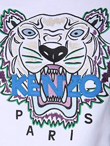 Kenzo Mujer Algodon Sudadera Blanco F952sw7054xa01 HHwFgqr