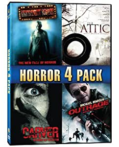 Horror 4 Pack (Midnight Movie / The Attic / Carver / Outrage)