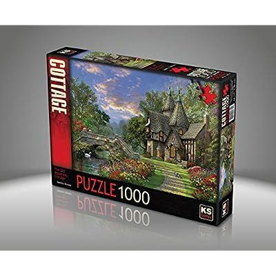 Puzzle 1000 Pices Dominic Davison Le Vieux Cottage Au Bord De Leau