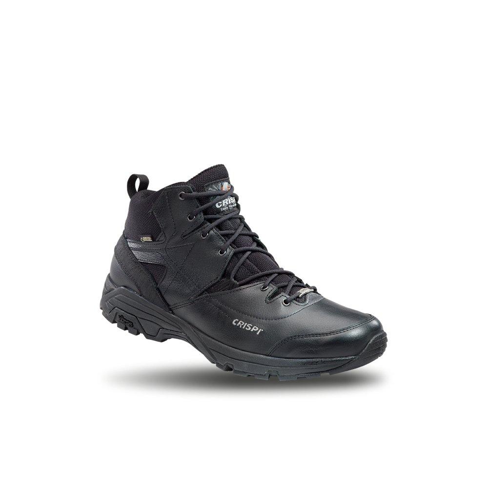 Stiefel niedrig Schuhe Crispi Spy Uni GTX Schwarze Militärische Leder Gore Tex Vibram