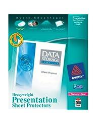 Avery Diamond Clear Heavyweight Sheet Protectors, Acid Free, ...
