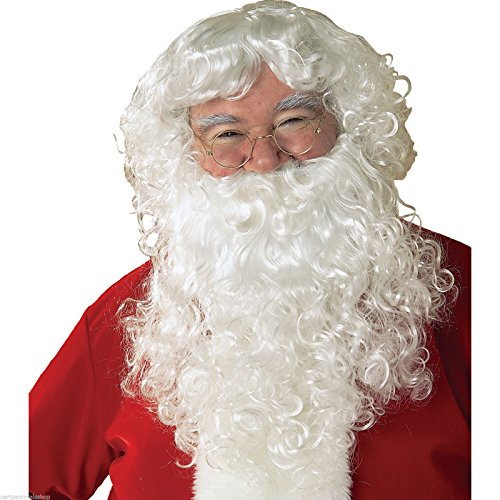 Economy Santa Wig & Beard Set Costume Accessory -