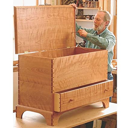 Fine Woodworking Plan 11057 Shaker Blanket Chest Woodworking
