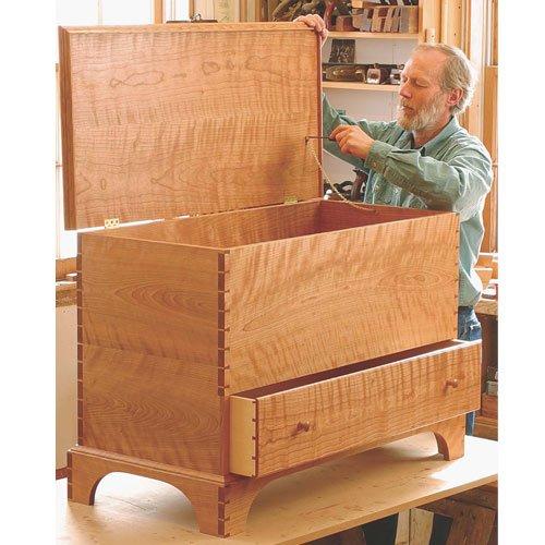 (Fine Woodworking Plan 11057 Shaker Blanket Chest)