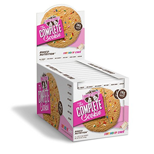 Lenny & Larry's The Complete Cookie - Birthday Cake - 4 Ounce (Pack of 12)