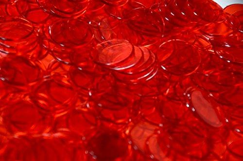 Regal Games 1,000 Count Bingo Chips (Red)