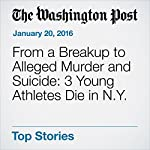 From a Breakup to Alleged Murder and Suicide: 3 Young Athletes Die in N.Y. | Yanan Wang