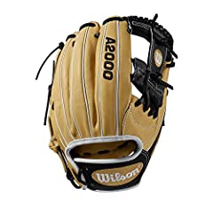 """The new A2000 1787 is made to work for you - no matter where you play on the infield. This 11.75"""" WTA20RB191787 is popular with both third basemen and middle infielders because of a pocket that's a little deeper, making it easier to snag line..."""