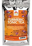 Shifa Golden Turmeric Tonic Tea: Anti-inflammatory and Therapeutic Tonic with Herbs, Phytonutrients and Antioxidants (1.5 oz.) For Sale