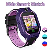 Kids Games Smart Watch Touch Screen Smartwatches Phone for 3-4 Year Children Boys Girls Students with SOS Two Way Call Camera Alarm Clock Quick Dial Flashlight Birthday Toys Holiday (Green)