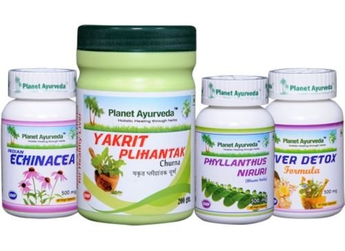 Liver Care Pack for Healthy Liver - Ayurvedic Remedy by Planet Ayurveda in (Ayurvedic Liver)