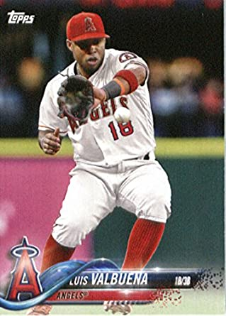 Amazoncom 2018 Topps Factory Team Sets Los Angeles Angels A 10