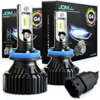 JDM ASTAR G4 H11 H8 H9 All-in-One LED Headlight Bulbs,Xenon White