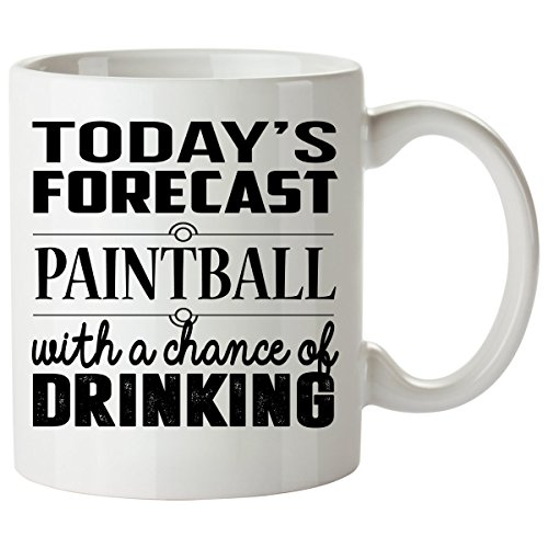 PAINTBALL Mug 11 Oz - PAINTBALL Gifts - Unique Coffee Mug, Coffee - Gs Quad 3000