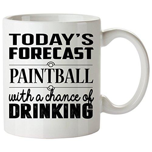 PAINTBALL Mug 11 Oz - PAINTBALL Gifts - Unique Coffee Mug, Coffee - Quad 3000 Gs