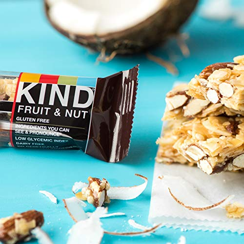 KIND Bars, Almond & Coconut, Gluten Free, Low Sugar, 1.4oz, 12 Count