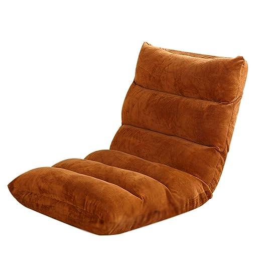 Amazon.com: JBFZDS - Silla de piso, cama trasera, sofá Lazy ...
