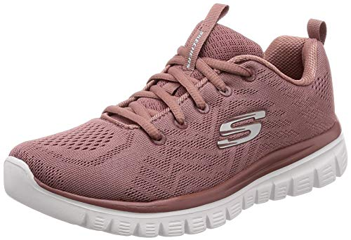 12615 Skechers Low Women Pink Top Trainers 5vvpzqWr