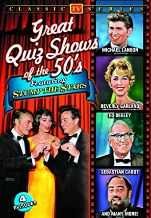 Great Quiz Shows Of The '50s Featuring Stump The Stars by