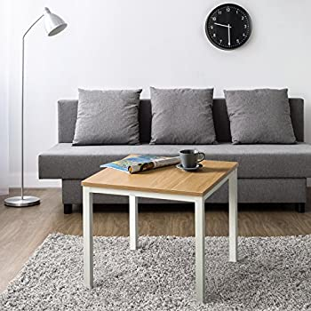 Zinus Modern Studio Collection Soho End Table, White