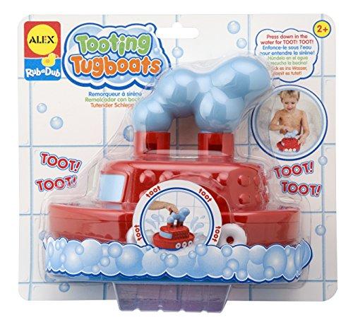 ALEX Toys Rub a Dub Tooting Tugboats