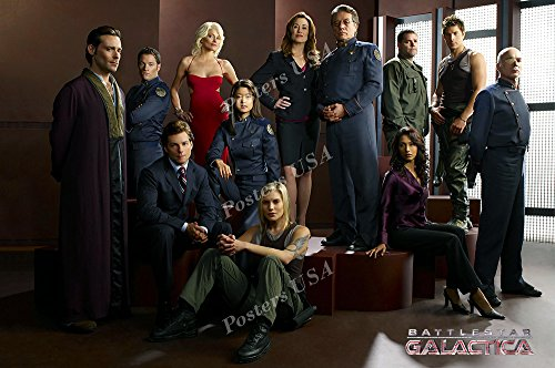 Posters USA - Battlestar Galactica TV Series Show Poster GLOSSY FINISH - TVS037 (24