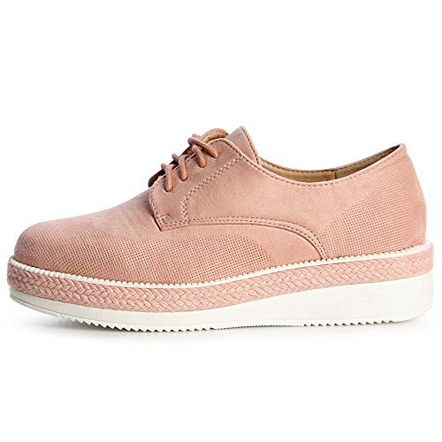Mocassins Rosa Topschuhe24 Chaussures Femmes Rose EZqxwIxa