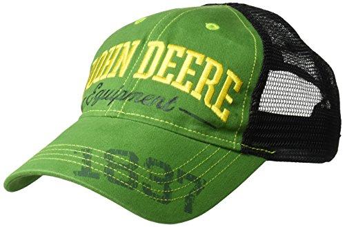John Deere Boys' Baseball Cap, Green/Black, Toddler