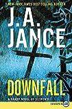 Downfall [Large Print]: A Brady Novel of Suspense