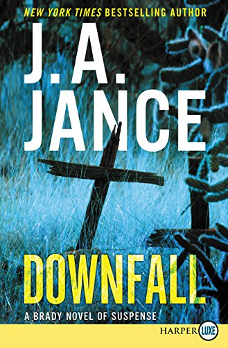 Book Cover: Downfall: A Brady Novel of Suspense