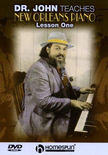 DVD-Dr John Teaches New Orleans Piano -Lesson - Piano Orleans Dr John New Teaches